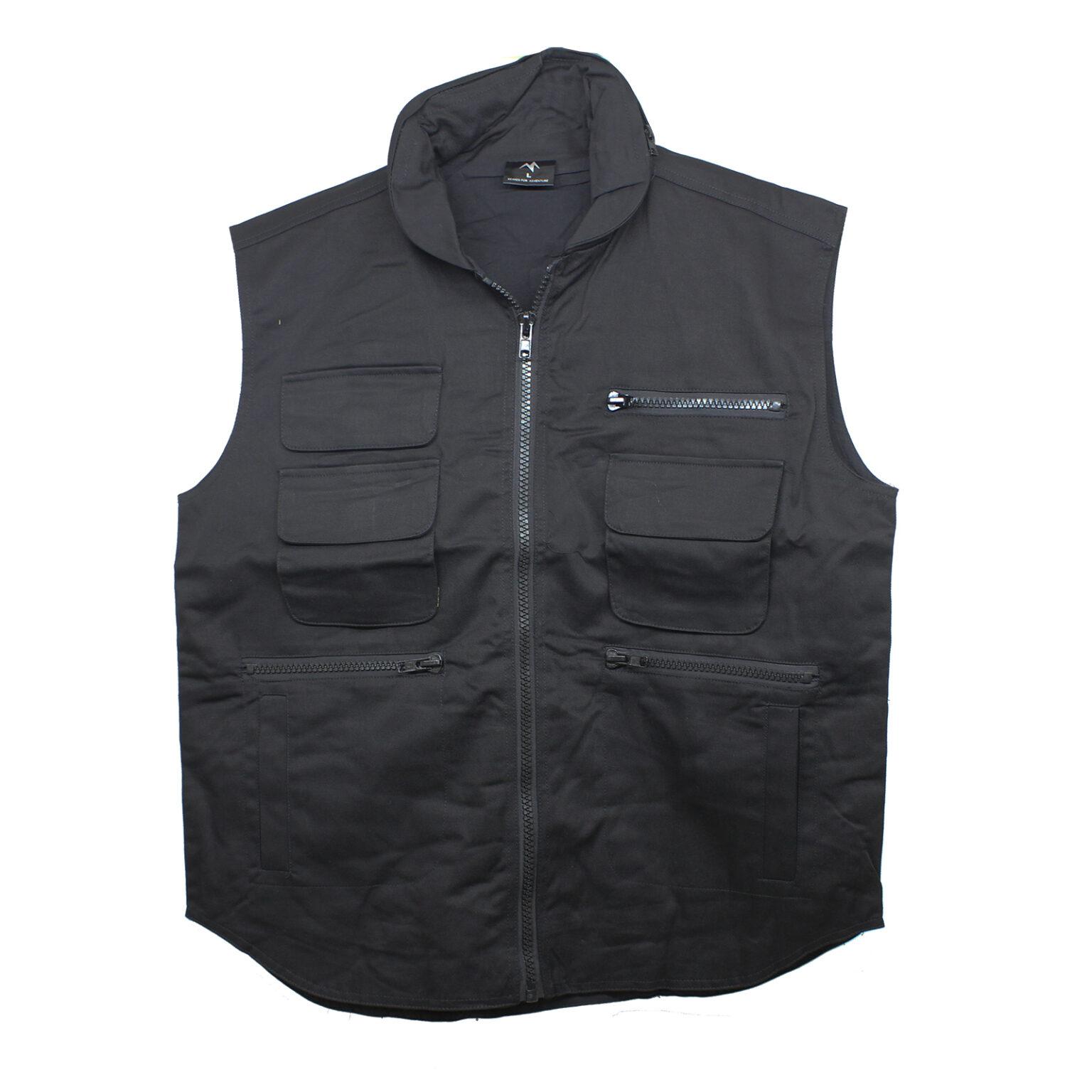 Vest black